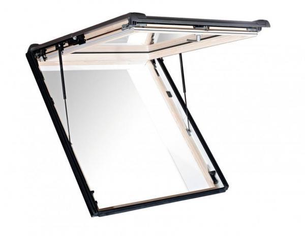 Roto Dachfenster WSA R88G Holz Designo R8 Wohnsicherheitsausstieg blueLine Plus Sun Aluminium