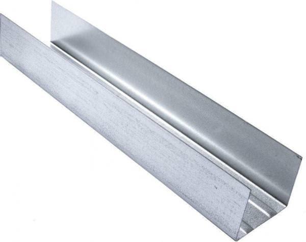 U-Randprofil 0,6 mm stark, 4m