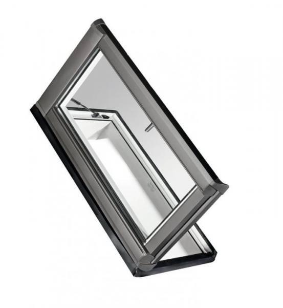 Roto Dachfenster WDA R85 Kunststoff Designo R8 Dachausstieg links blueLine Aluminium