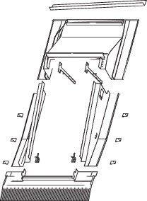 Roto ERA Rx ZIE Eindeckrahmen Einzel-Einbaurahmen Aufkeil wärmegedämmt Aluminium