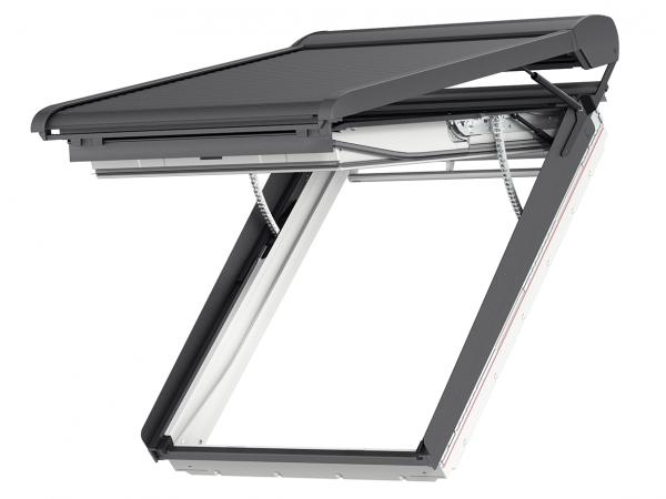 VELUX SMH 0000S Integra® Elektro-Rollladen Aluminium Dunkelgrau