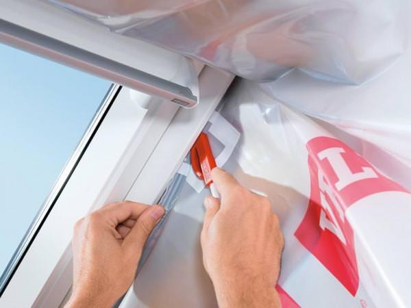 VELUX BBX 0000 Dampfsperrschürze für VELUX Dachfenster