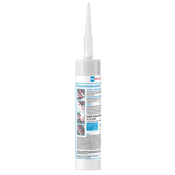 Braas Divoroll Anschlusskleber 310 ml/Kartusche lösungsmittelfrei