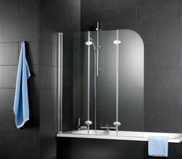 Schulte ExpressPlus Komfort Badewannenfaltwand 3-teilig