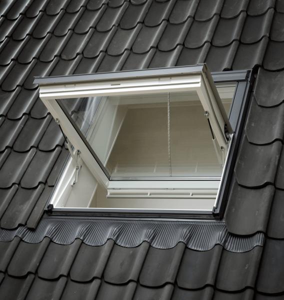 VELUX Dachfenster GGL 206640D Holz Rauchabzugsfenster weiß lackiert Energie Plus Aluminium