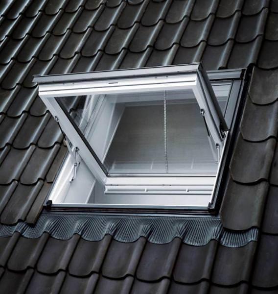 VELUX Dachfenster GGU 007040 Kunststoff Rauchabzugsfenster THERMO Aluminium