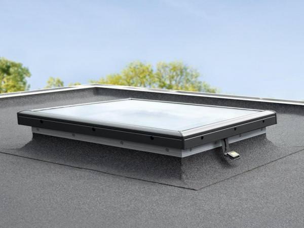 VELUX Flachdachfenster FLACH-GLAS ISD 2093 klare Scheibe