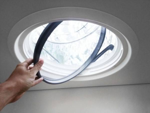 VELUX Adapter ZTB 0K14 2002 für verbesserten Wärmeschutz bei Tageslicht-Spots