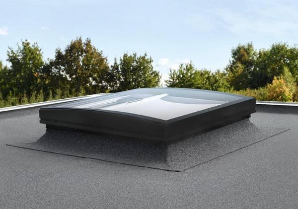 VELUX Flachdachfenster KONVEX-GLAS ISD 1093 klare Scheibe