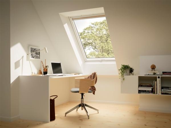 VELUX Austausch Schwingfenster Kunststoff VU
