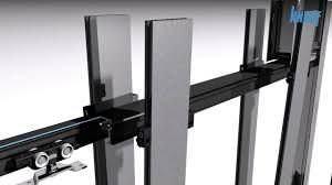 Knauf Pocket Kit Schiebetür System Standard CW75/100 H bis 2125 mm B 610/735/860/985 mm