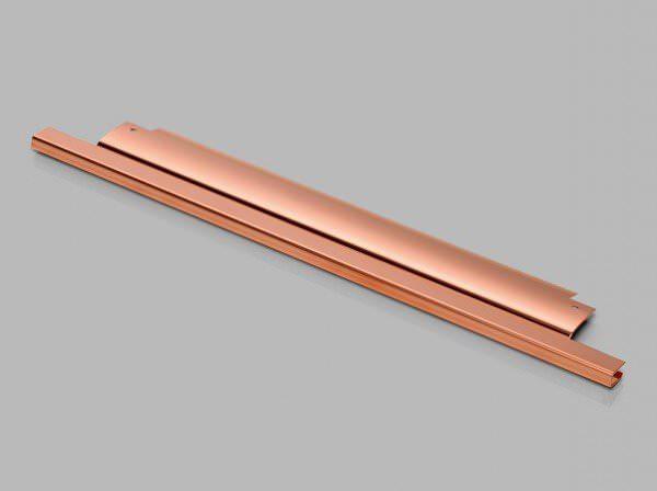 VELUX ZOZ 227 Abdeckblech Kupfer für VELUX Elektro- und Hitzeschutz-Markise solarbetrieben