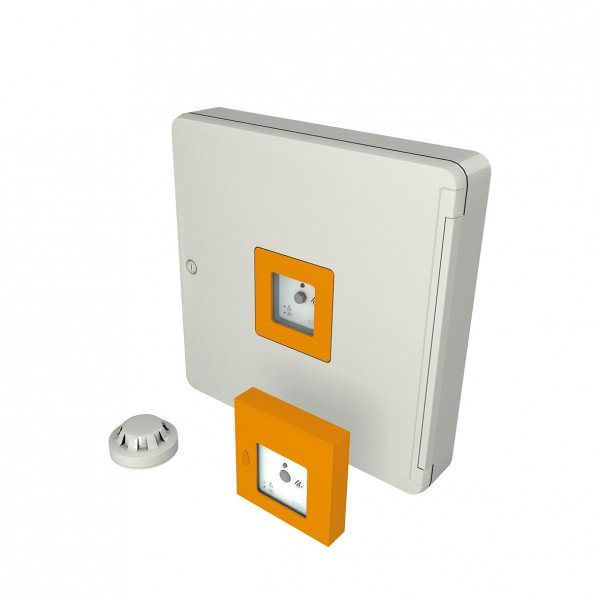 VELUX KFX 212 RWA-Steuersystem Hauptbedienstelle gelb