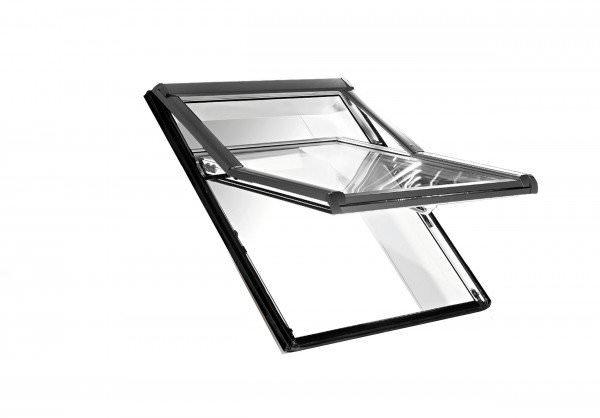 Roto Dachfenster WDF R78G Kunststoff Designo R7 Hoch-Schwingfenster blueLine Plus Sun Aluminium
