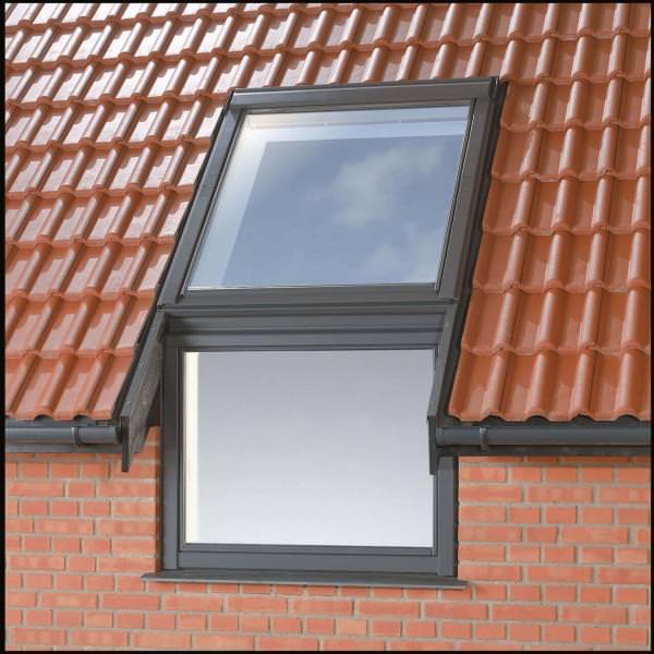 VELUX Einzel-Eindeckrahmen für Fassadenanschlussfenster