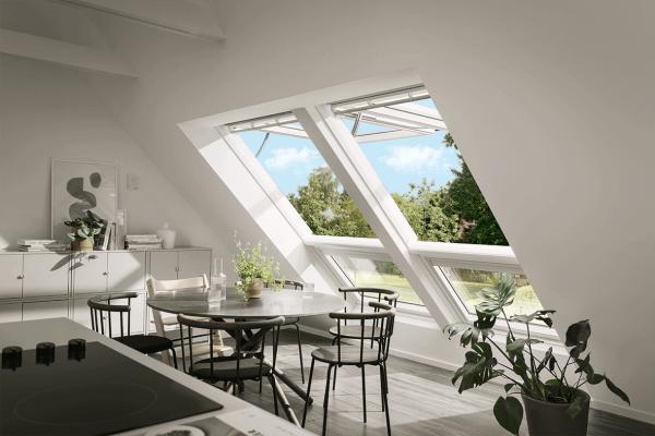 VELUX Dachfenster GPU 007021 Kunststoff INTEGRA® Elektrofenster Thermo Aluminium
