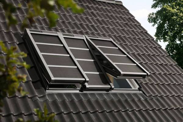 VELUX Hitzeschutzmarkise Verdunkelung Solar für 3-in-1 SSSS