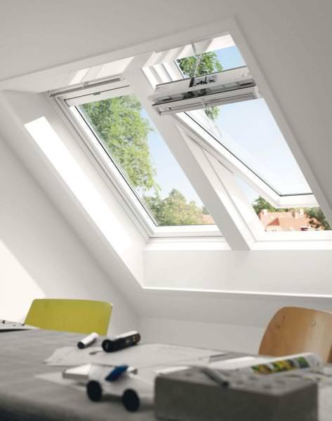 VELUX INTEGRA Solar Schwingfenster Kunststoff GGU