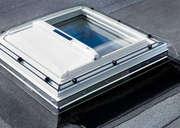 VELUX Solar-Hitzeschutz-Markise für Flachdach-Fenster