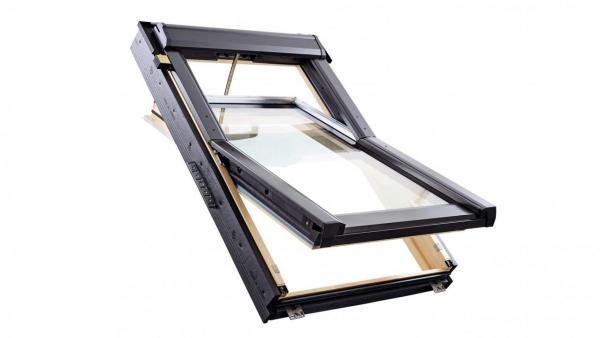 RotoQ Tronic Schwingfenster QT4 Holz