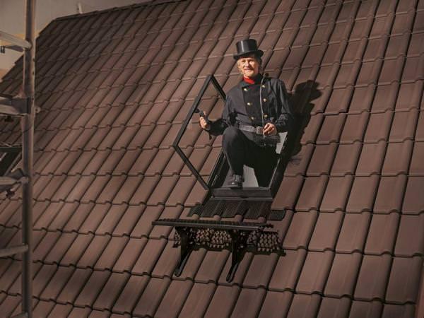 VELUX Dachfenster GVT 0059Z Kunststoff Dachausstieg schwarz für Kalträume wärmegedämmt