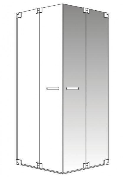 PALME AVITO Vario / Zero Falt-Eckeinstiegshälfte 2-teilig
