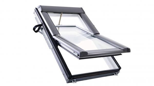 Roto Designo RotoTronic Schwingfenster R6 Holz