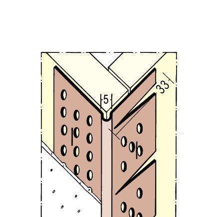 Protektor Winkelprofil PVC Nr. 3767 L 300 cm
