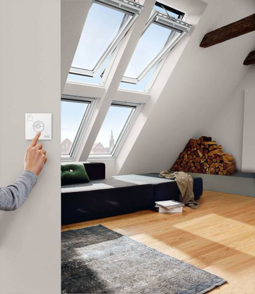 VELUX INTEGRA Elektro Schwingfenster Holz GGL