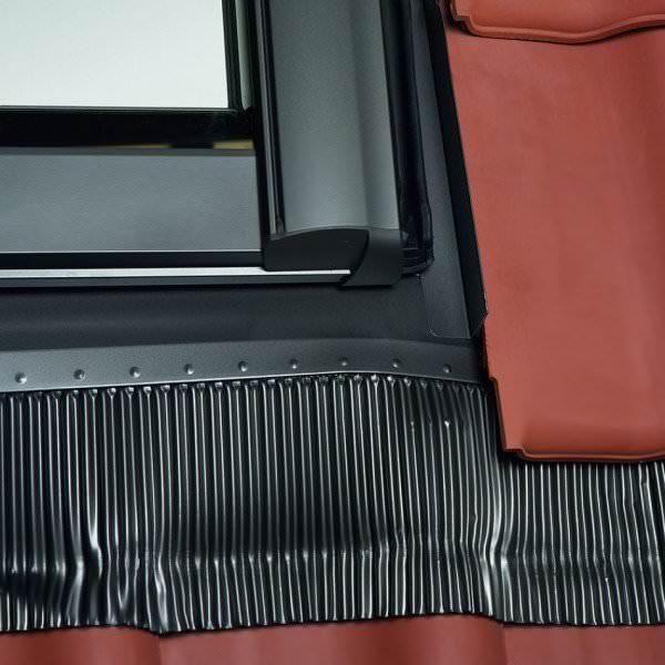 Roto EDR Rx HZI Eindeckrahmen Hohe Pfannen/Ziegel wärmegedämmt Aluminium