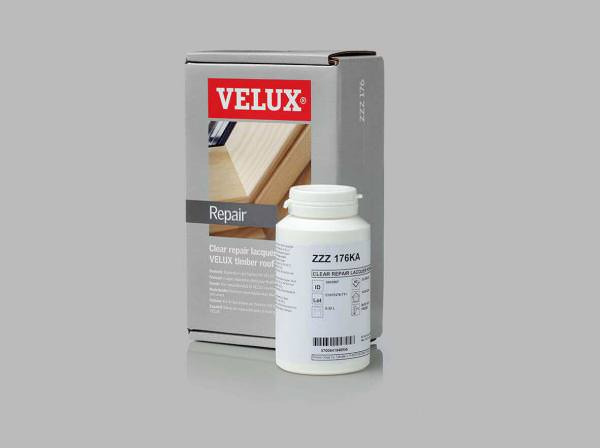 VELUX ZZZ 176KA Reparatur-Lack farblos für VELUX Holzfenster