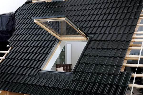 VELUX Dachfenster GTL 3170 Holz Wohn- und Ausstiegsfenster klar lackiert THERMO Kupfer