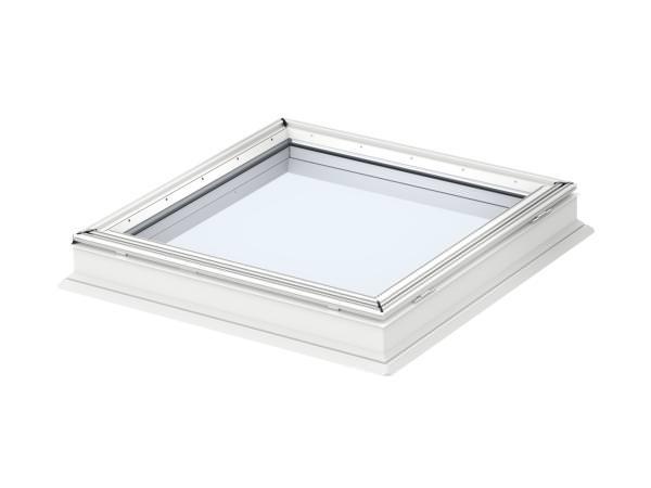 VELUX Flachdach-Fenster CFP 0073QV Basis-Element fest verglast Kunststoff-Isolierglas