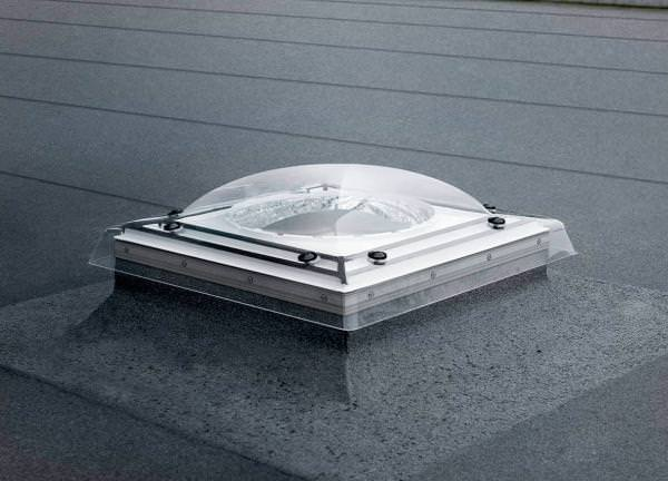 VELUX Tageslicht-Spot f. flaches Dach, starres Rohr, Länge 170 inkl. BBX