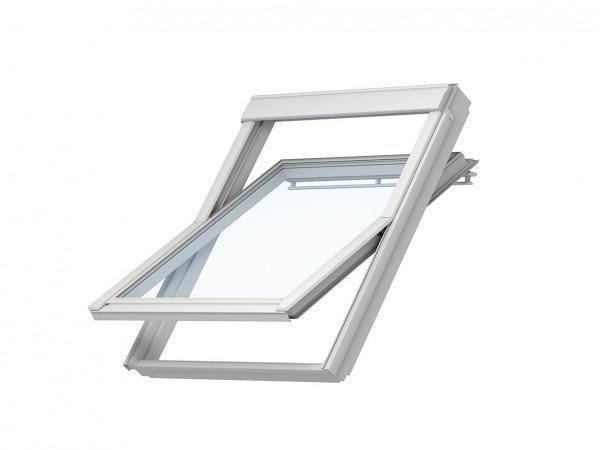VELUX Dachfenster VU 0060 Kunststoff Schwingfenstser 5-STAR Aluminium