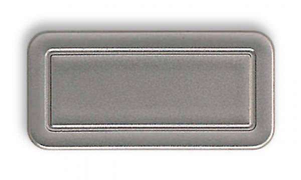 Roto ZUB ADP Abdeckplatte für Griff für Roto Dachfenster R8/R6 grau