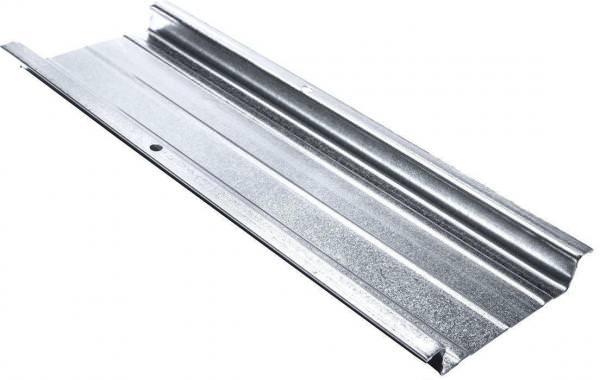 Hut-Deckenprofil 48/15,5/0,60 mm L 400 cm