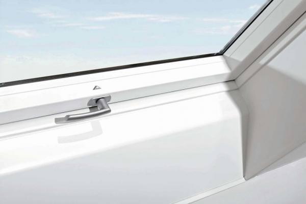 Roto ZIN Innenfutter Designo Standard-Renovierung 1x1 Kundstoff weiß 400mm
