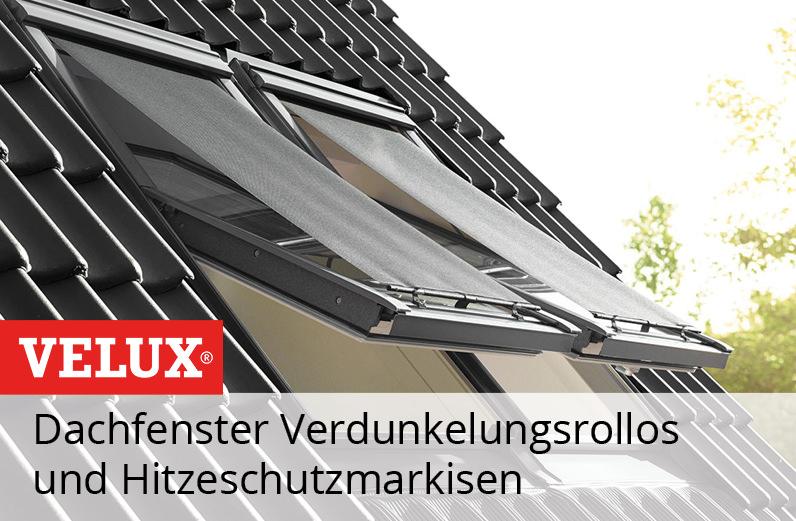 Velux Dachfenster Rollo zum Hitzeschutz