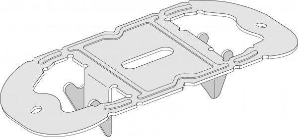Direkt-Montageclip f. CD-Profil 60x27 mm