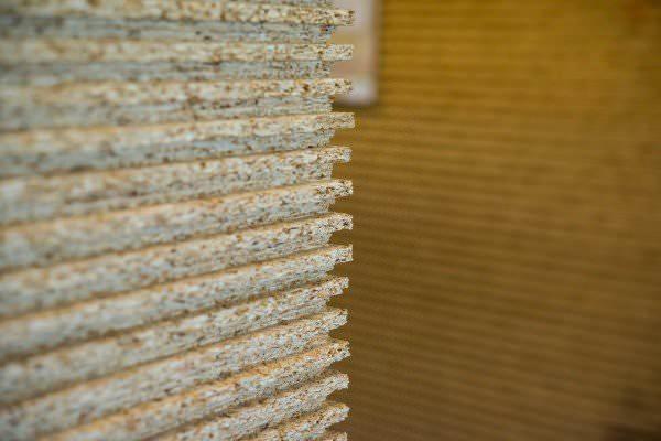 ESB-PLUS Verlege-/Ausbauplatte E1 P5 N+F 25 mm geschliffen, 2580x675 mm