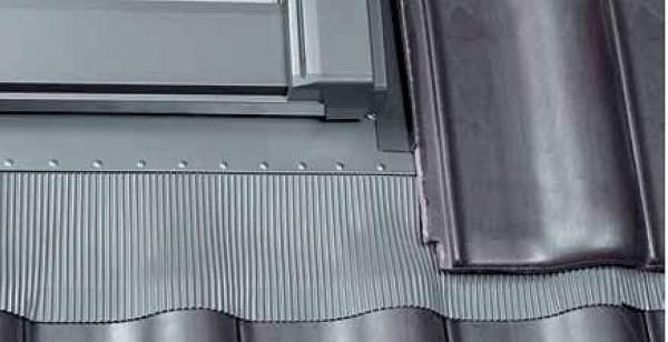 Roto Eindeckrahmen ESR Ziegel Designo R3 Wohndachausstieg 1x1 Aluminium