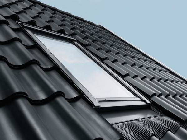VELUX Dachfenster GGU SD0J2 Kunststoff Schwingfenster THERMO PLUS Aluminium