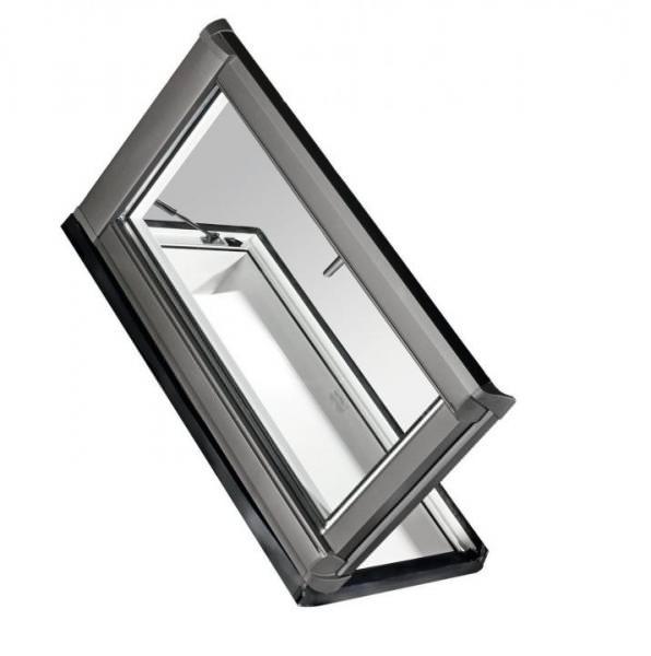 Roto Dachfenster WDA R35 Kunststoff Designo R3 Dachausstieg rechts blueLine Aluminium