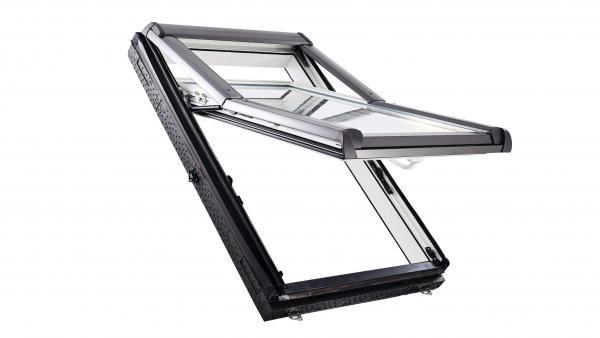Roto Designo Hoch-Schwingfenster R7 Kunststoff
