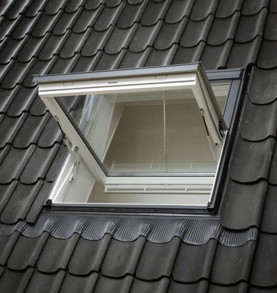 VELUX Dachfenster GGU 007040D Kunststoff Rauchabzugsfenster Thermo Aluminium