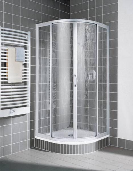 Kermi NOVA 2000 Viertelkreis-Duschkabine mit Gleittüren N2 R
