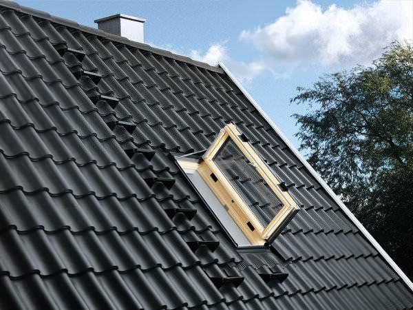 VELUX Dachfenster GXL 3166 Holz Wohn-/ Ausstiegsfenster Türfunktion klar lackiert ENERGIE PLUS Kupfe