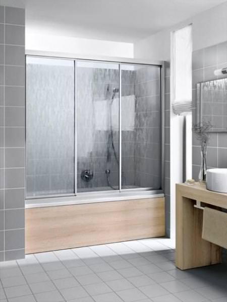 Kermi NOVA 2000 Gleittür 3-teilig N2 STD für Badewanne