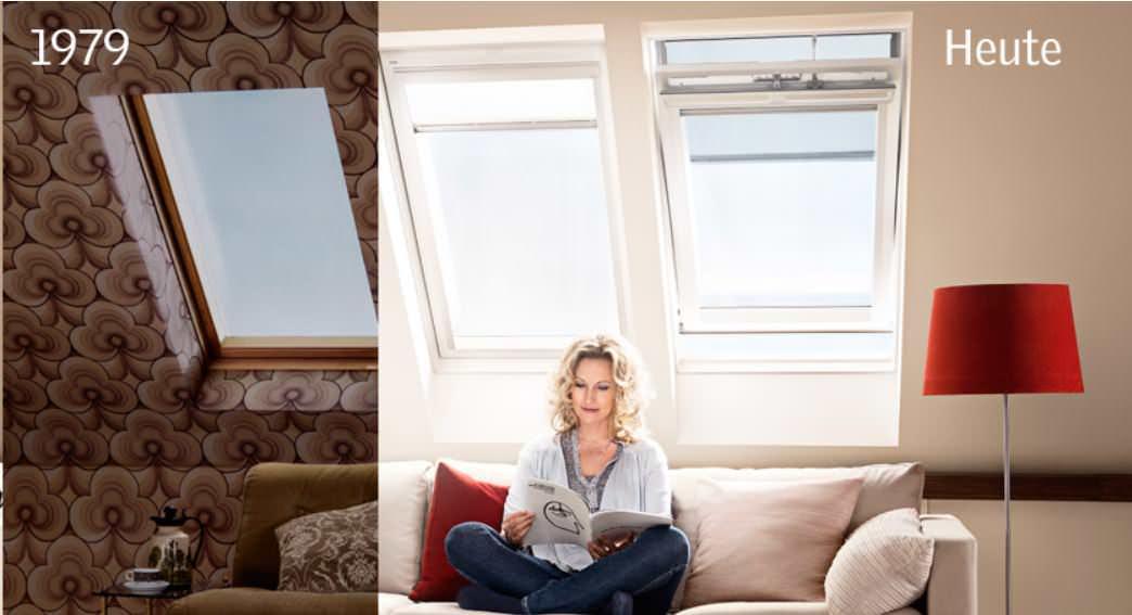 Neue VELUX Standard-Verglasung bei Austausch-Dachfenster